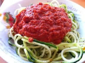 Vegan Raw Zucchini Pasta Recipes