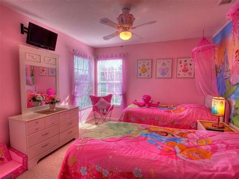pink bedroom ideas   girls