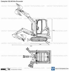 Caterpillar 3024d Mini Excavator Plans