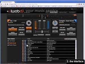 iWebDJ - Online DJ Mixer (the basics) - YouTube