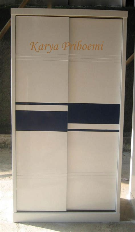 jual almari pakaian minimalis pintu sliding terbaru
