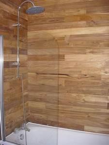 lambris bois salle de bain mzaolcom With lambris bois salle de bain