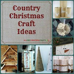 13, Country, Christmas, Craft, Ideas