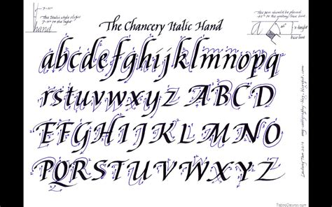 12 Cursive Letters Fonts Images  Cool Letter Fonts Cursive, Cursive Font Alphabet Letters And