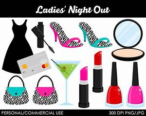 Ladies Night Out Clipart Digital Clip Art by MareeTruelove