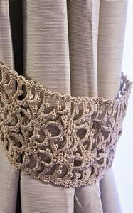 Embrasse Pour Rideaux : embrasse au crochet pour rideaux rideaux pinterest crochet valance and crochet curtains ~ Teatrodelosmanantiales.com Idées de Décoration