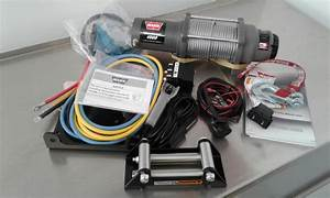 New   Warn Vrx45 Powersports Winch With Wire Cable 4500 Lbs