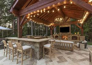 Outdoor, Kitchen, Construction, Installation, Charlotte, Nc