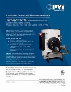 Pvi Turbopower 96 Installation Manual