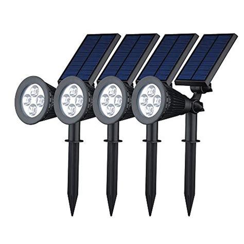 best outdoor solar powered spot lights 2017 top