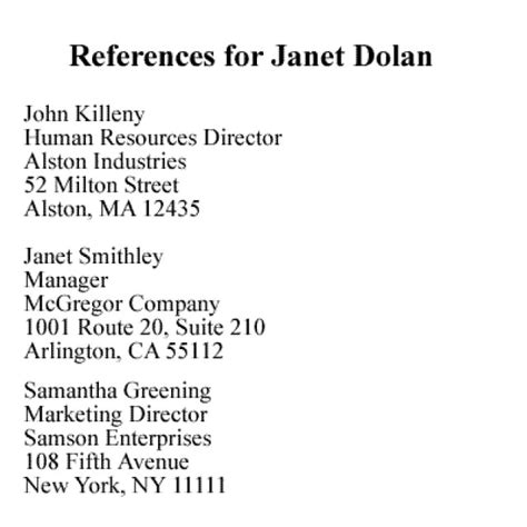 How To Give References In Resume by What You Should About References Places To