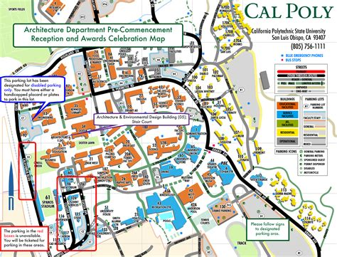 Cal Poly Gypsum Floor Plan by Commencement Ceremony Information Architecture Cal