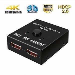 Zwei Monitore Verbinden : m way hdmi switch 2 port bidirektional hdmi umschalter 2 ~ Jslefanu.com Haus und Dekorationen