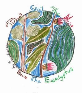 How Children Draw 'Save the Eucalyptus Trees' | San ...