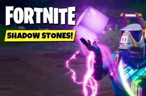 fortnite shadow stones   find  shadow stone