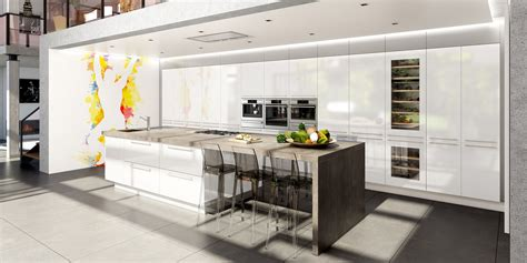 cuisine avec ilots cuisine moderne avec ilot central