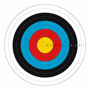 Image Gallery olympic archery target