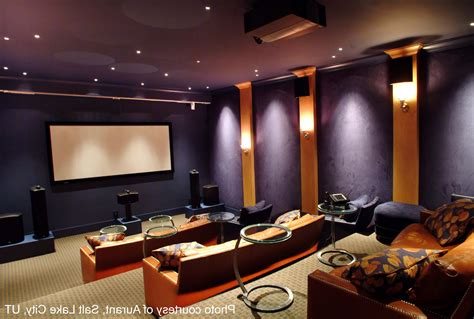 Home Movie Theater Room Colors Saomcco