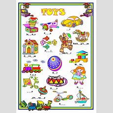 Toys Missing Letters Activity