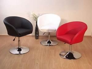 Lounge Sessel Leder Braun : drehsessel lounge chair drehbar hocker sessel drehstuhl braun schwarz wei rot kaufen bei go ~ Bigdaddyawards.com Haus und Dekorationen
