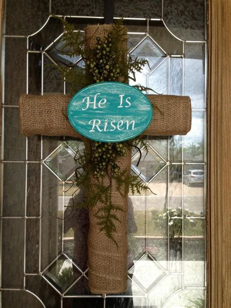 christian easter decorations 25 best ideas about cross wreath on easter