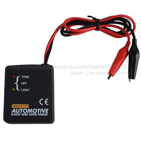 Automotive Cable Wire Tracker Short Open Circuit Finder
