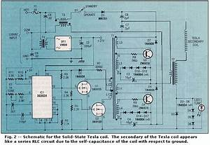 Solid State Tesla Coil Schematic