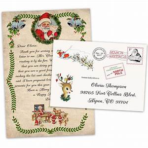 personalized christmas letter from santa claus official With personalized letter from santa claus