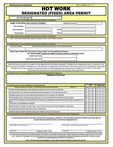 hot work permit template 2014freerun5com With hot works permit template