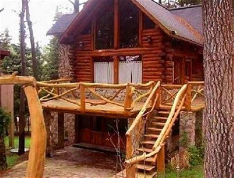 casas rusticas de madera  piedra