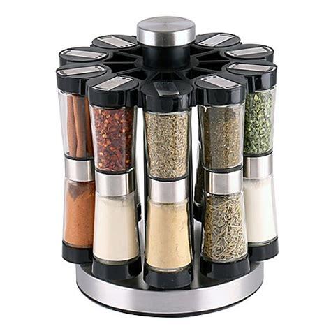 Spice Rack 20 by Orii Gourmet Hourglass 20 Jar Spice Rack Bed Bath Beyond