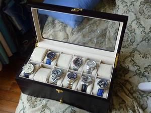 Coffret Rangement Montre : coin des affaires coffret bois rangement 20 montres ~ Teatrodelosmanantiales.com Idées de Décoration