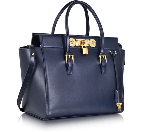 versace large signature lock handbag  forzieri australia
