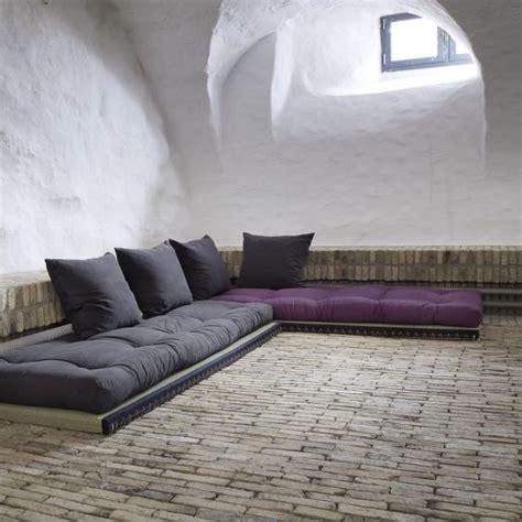 des canapés à même le sol floriane lemarié
