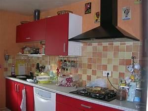 Cuisine avant (photo 4/5) J'ai transformé les meubles de la cuisine qui