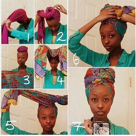 how to make moroccan ls comment nouer attacher un foulard africain tuto