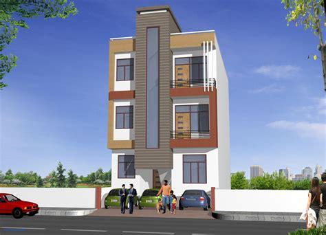 Ghar Exterior Design Lovely Flat Front Elevation Designs