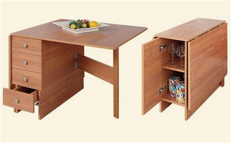 folding kitchen table with chair storage стол книжка обзор современных моделей с фото дом мечты 8263