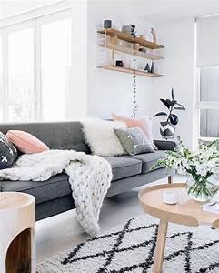 Ensemble Salon Scandinave : meuble salon scandinave maison design ~ Teatrodelosmanantiales.com Idées de Décoration