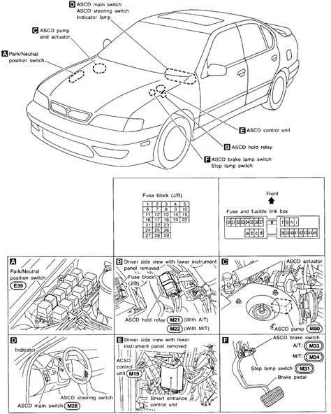 2000 Infiniti G20 Fuse Box Diagram by Need To The Fuse Slot Number For The Horn On 1999