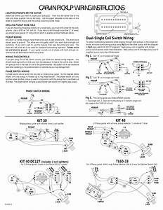 2 Single Coil Pickup Wiring Diagram