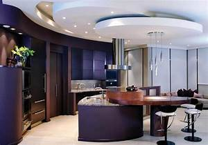 Installing recessed lighting in a kitchen : Modern recessed lighting for kitchen ceiling with luxury
