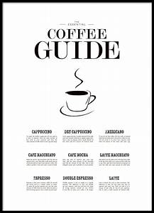 Poster Für Küche : k chenposter zum thema kaffee coffee guide poster f r ~ Michelbontemps.com Haus und Dekorationen
