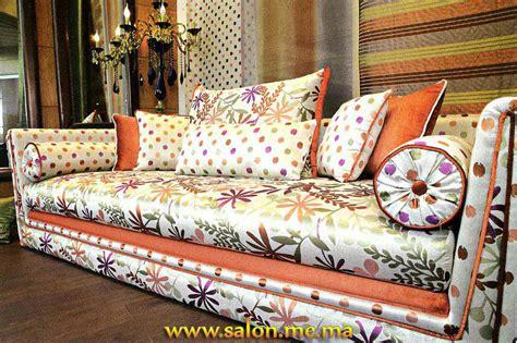 tissu canapé marocain salon marocain décoration maison 2014