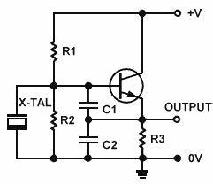 crystal oscillator circuit circuit diagram world With clapp oscillator