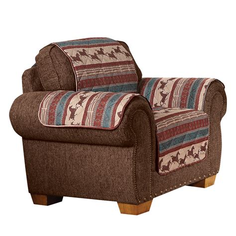 quilted western mustang furniture cover by collections etc