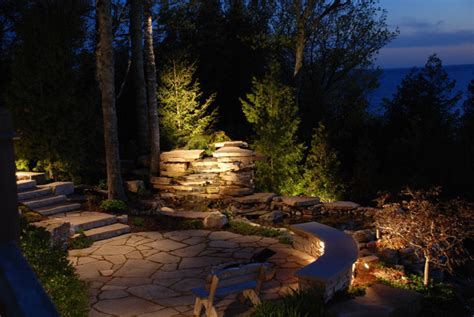 low voltage landscape lighting images