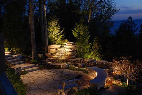low voltage landscape lighting images