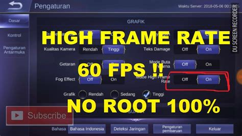 Hack Mobile Legend Work 100 No Root Needed