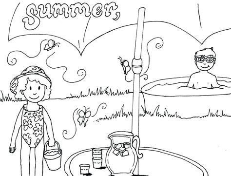 seasons coloring pages  kindergarten  getcoloringscom  printable colorings